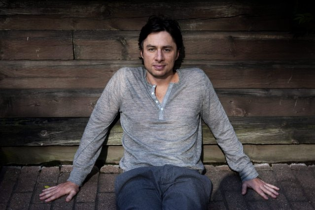 Zach Braff... (Photo ,Chris Young archives La Presse Canadienne)