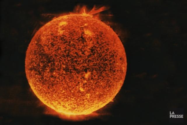 Le Soleil.... (Photothèque La Presse)