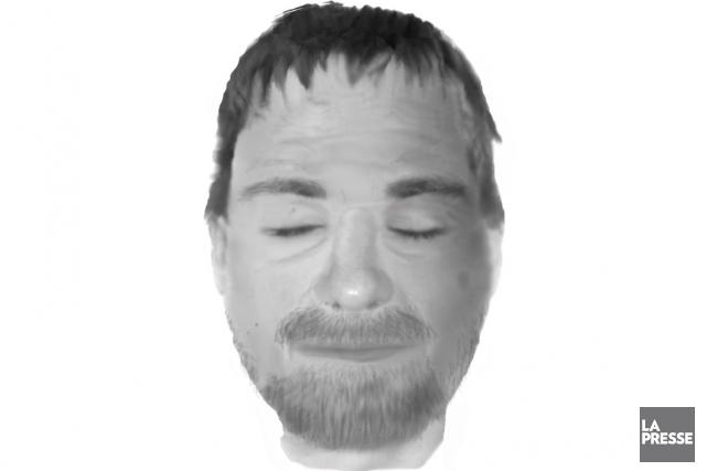La police cherche donc à l'identifier et a... (Portrait-robot SPVM)