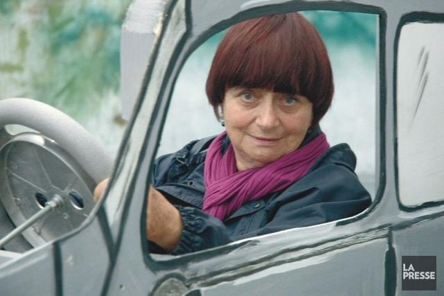 Agnès Varda... (Photo: archives La Presse)