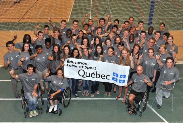 Vendredi matin avait lieu le dévoilement de l'équipe du Québec d'athlétisme... (Imacom, Maxime Picard)