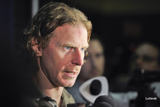 Daniel Alfredsson... (PHOTO ARCHIVES LE DROIT)