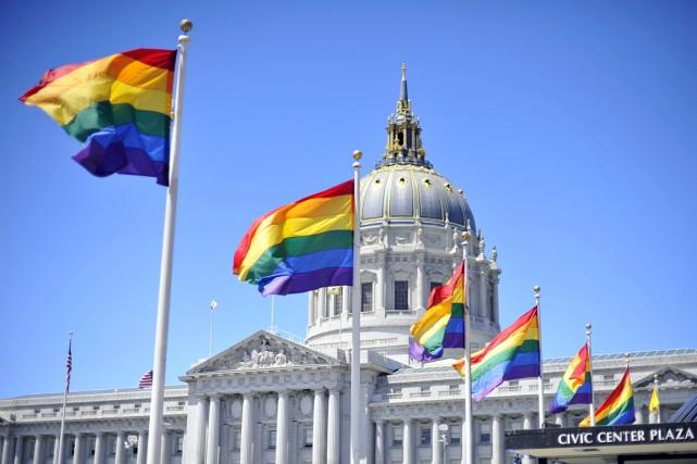 Un juge fédéral d'Arizona a décidé vendredi qu'un homosexuel veuf avait le... (PHOTO JOSH EDELSON, ARCHIVES AFP)