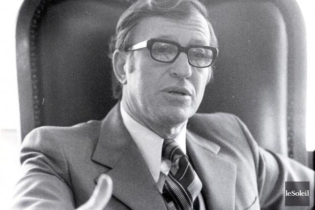 Gilles Lamontagne a été maire de Québec de... (Archives Le Soleil)