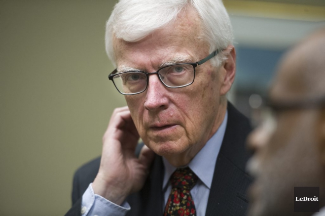 Le président du CA de la CCN, Russell... (MARTIN ROY, Archives LeDroit)