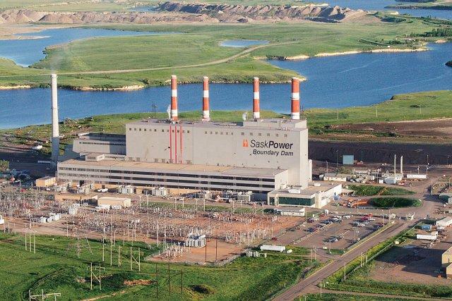 Le centrale thermique Boundary Dam, en Saskatchewan.... (Photo: fournie par SaskPower)