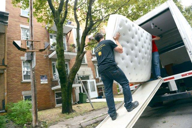 La formule de la «journée du déménagement» est... (Photo Le Soleil, Patrice Laroche)