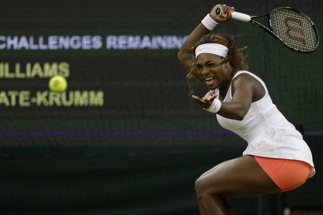 Chez les femmes, qui pourrait arrêter Serena Williams?... (Photo : Anja Niedringhaus, AP)