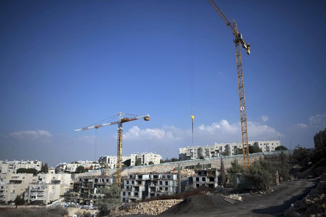 Sur cette photo de septembre 2011, des logements... (Photo: archives AFP)