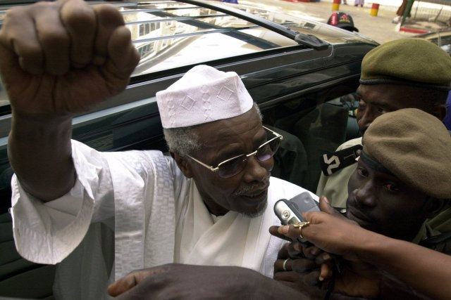 L'ex-président tchadien, Hissène Habré.... (PHOTO ARCHIVES REUTERS)