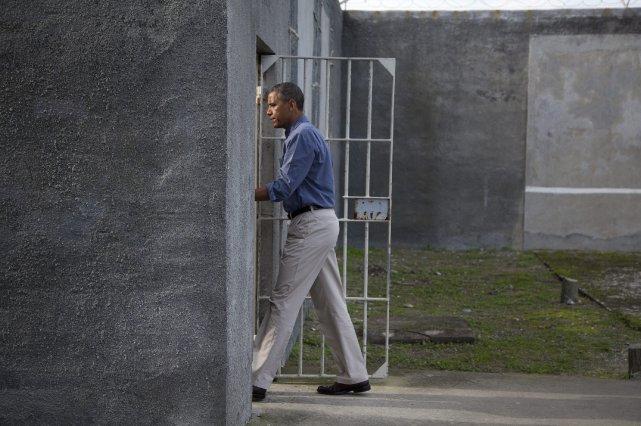 Le président américain Barack Obama lors de sa... (Photo Evan Vucci, AP)