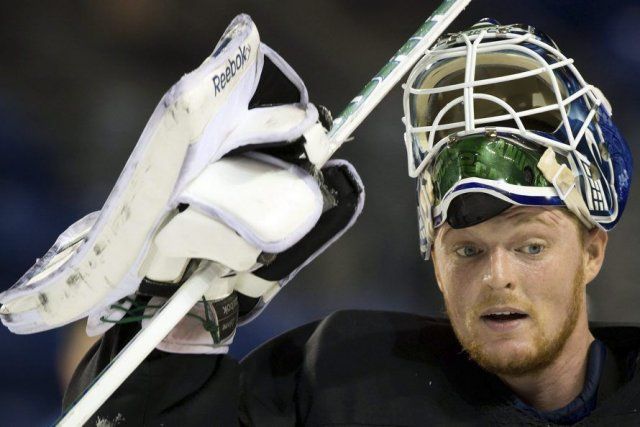 Cory Schneider... (PHOTO DARRYL DYCK, PC)