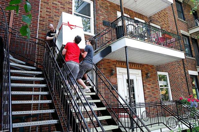 Le taux d'inoccupation des logements à Québec est... (Le Soleil, Yan Doublet)