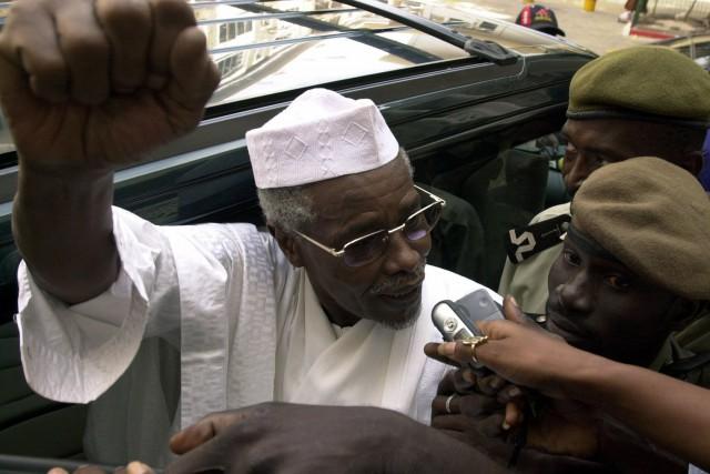 L'ex-président tchadien, Hissène Habré, qui a été au... (PHOTO ARCHIVES REUTERS)