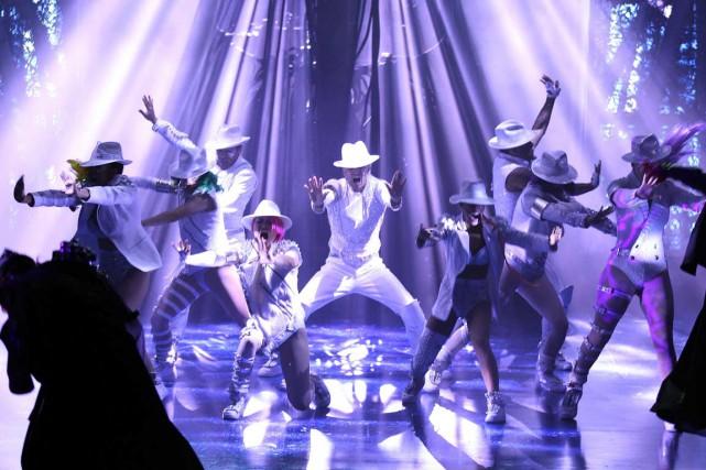 Le spectacleMichael Jackson ONE est composé de 22... (Photo archives, Getty Images)