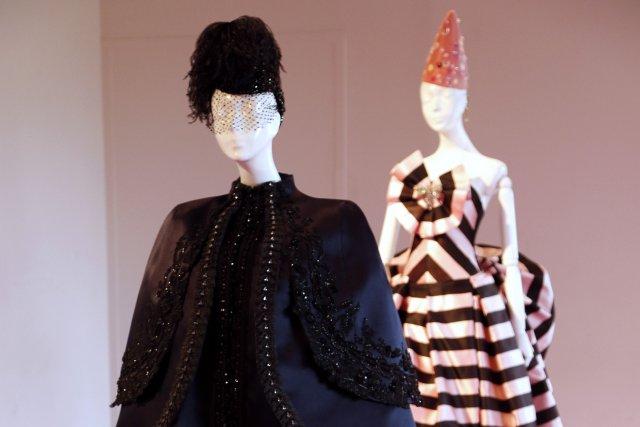 Cinq jours de prêt-à-porter masculin, puis place à la haute couture: les... (Photo FRANCOIS GUILLOT, archives AFP)