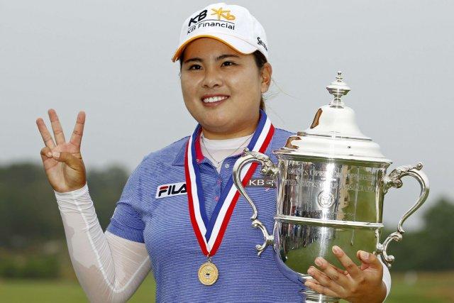 Et de trois pour la Coréenne Inbee Park!... (Photo Adam Hunger, Reuters)