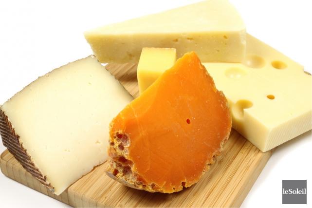 Mimolette (fromage de couleur orange au milieu de... (Photothèque Le Soleil)