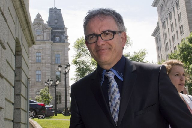 Le ministre de la Santé, Réjean Hébert.... (Photo Jacques Boissinot, La Presse Canadienne)