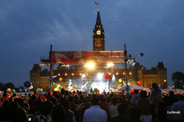 Je n'ai pas l'âme à la fête du Canada. Depuis neuf ans son gouvernement impose... (Simon Séguin-Bertrand, Archives LeDroit)