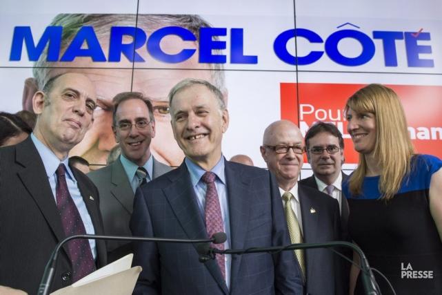 Pour empêcher Denis Coderre d'être élu, la coalition... (Photo Paul Chiasson, La Presse canadienne)