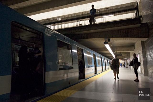 Plusieurs stations du métro de Montréal ont été... (La Presse, Anne Gauthier)