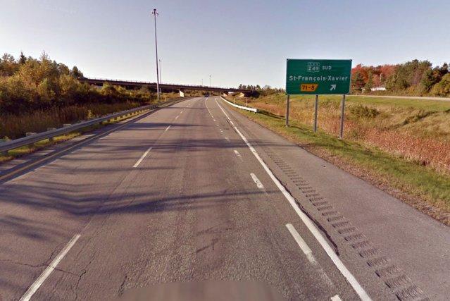 L'accident de travail survenu mardi lors d'une opération d'inspection d'un... (Capture d'écran Google Street View)