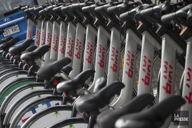 Depuis 2012, la Société de vélo en libre-service,... (Photo Ivanoh Demers, La Presse)
