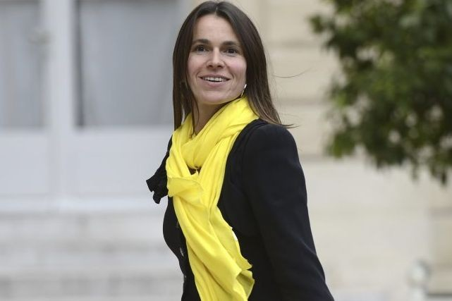 Aurélie Filippetti, ministre française de la Culture en... (Photo: archives AFP)