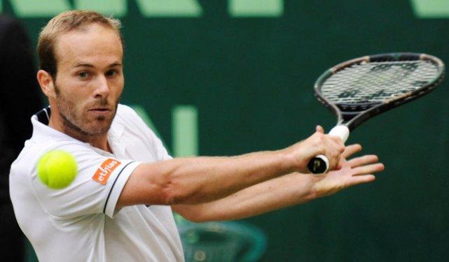 La présence du Belge Olivier Rochus, ex-24e joueur... (photo ATP)