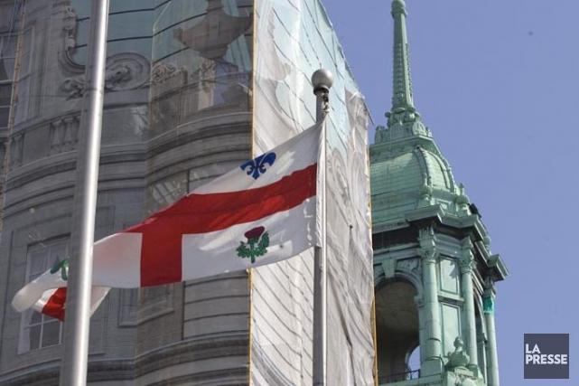 Il y a maintenant cinq candidats en vue de l'élection à la mairie de Montréal,... (Photo Alain Roberge, Archives La Presse)