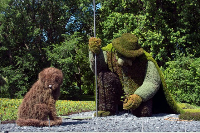 Il serait intéressant pour Gatineau de se doter d'un jardin botanique à la... (Photo Guy Boily)