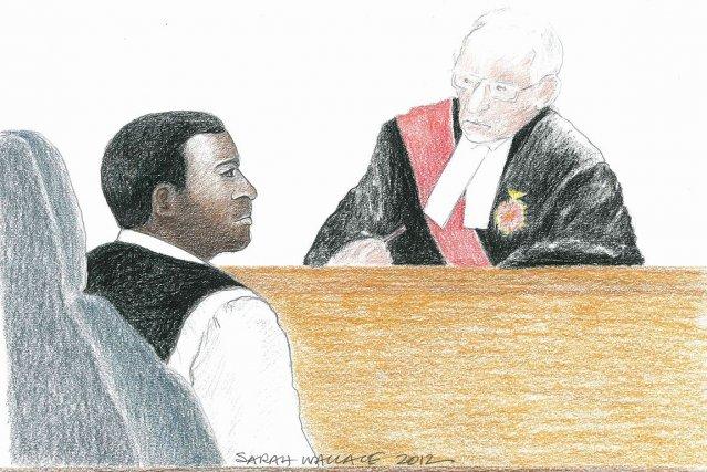 Jacques Mungwarereavait été arrêté en 2009 à Windsor,... (Illustration: Sarah Wallace, PC)