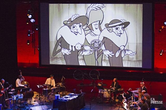 La salle était remplie pour le premier ciné-concert... (Photo: Anne Gauthier, La Presse)