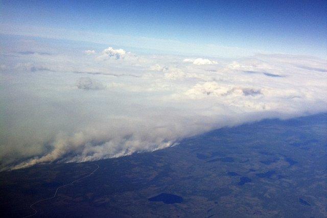 Le plus gros incendie de forêt de l'histoire... (Photo: fournie par Airmedic)