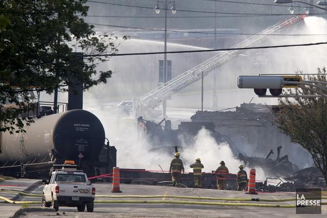 La société ferroviaire qui se trouve au coeur... (Photo: Robert Skinner, La Presse)