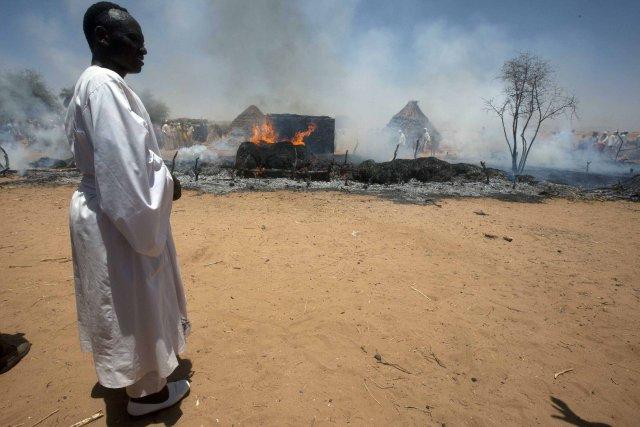 Les rebelles des tribus noires du Darfour se... (Photo Albert Gonzalez Farran, archives Reuters)