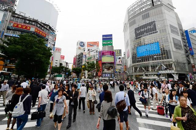 Le carrefour de Shibuya, à Tokyo.... (Photo: archives AFP)