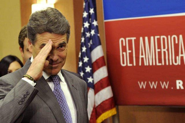 Rick Perry n'a jamais perdu une élection en... (Photo: AFP)
