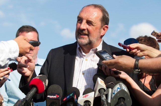 Le ministre fédéral des Transports,Denis Lebel, a défendu... (Le Soleil, Caroline Grégoire)