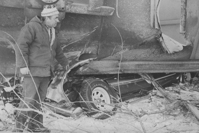 La camionnette de Raymond Hélie, tout comme sa... (Photo: Archives Le Nouvelliste)