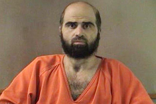 L'ex-psychiatre de l'armée américaine Nidal Hasan a été... (PHOTO ARCHIVES AP)