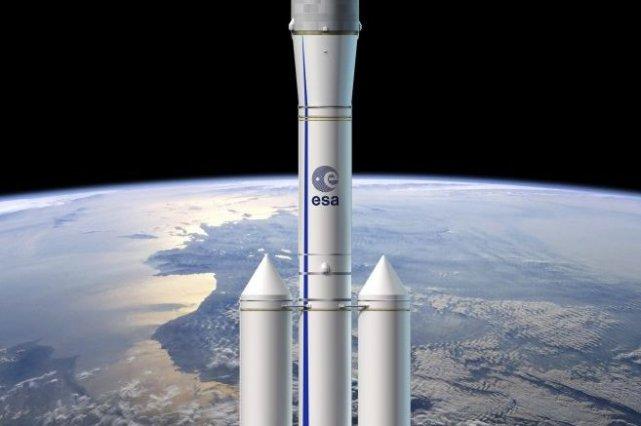 La fusée Ariane 6 doit assurer la relève... (PHOTO D.DUCROS, ESA / AFP)