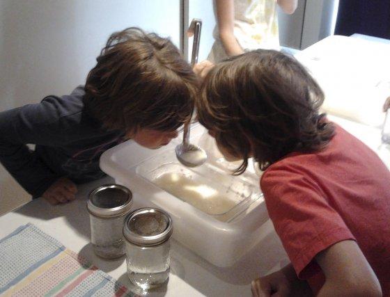 Les visiteurs qui se rendent au Musée du cheddar de Saint-Prime, cet été,... (Photo Isabelle Tremblay)