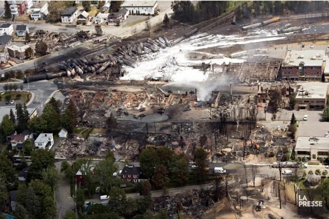 Espérons que le coeur de Lac Mégantic continuera... (Photo La Presse canadienne)