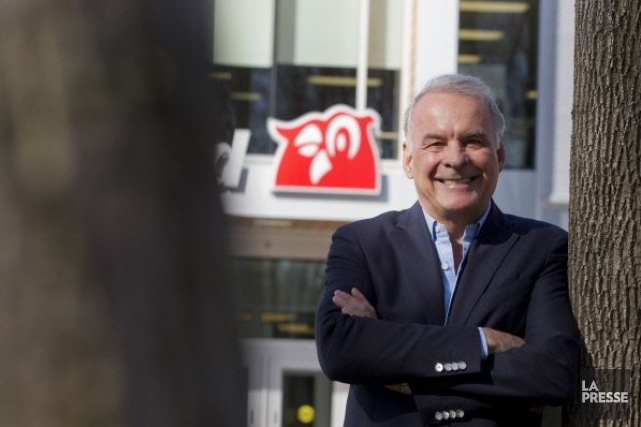 Le pdg de Couche-Tard, Alain Bouchard... (Photo Ivanoh Demers, archives La Presse)