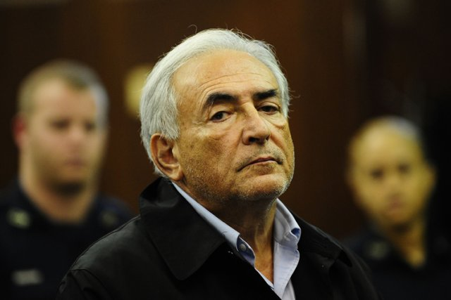 Dominique Strauss-Kahn en cour à Manhattan en mai... (Photo: Reuters)
