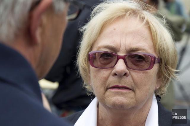 La mairesse de Lac-Mégantic, Colette Roy Laroche, tiendra... (Photo: Olivier Jean, Archives La Presse)