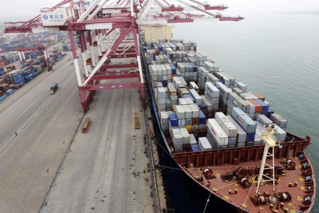 Les exportations de la deuxième économie mondiale ont... (Photo archives AP)