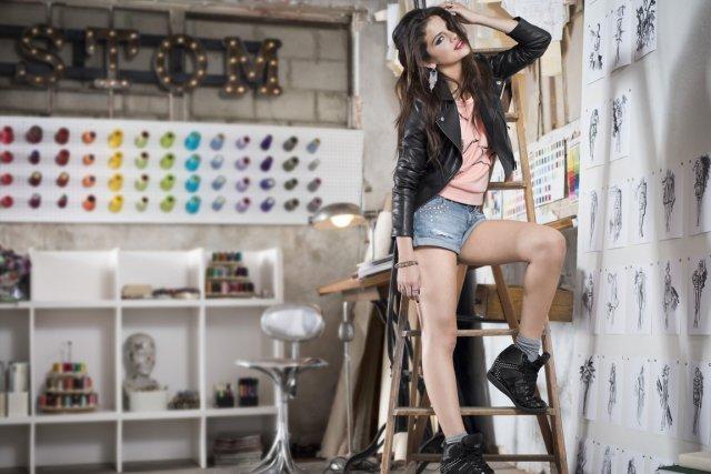 Selena Gomez pour Adidas NEO... (Photo fournie par Adidas)